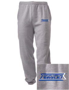 Century Christian School Eagles Embroidered Men's Sweatpants with Pockets