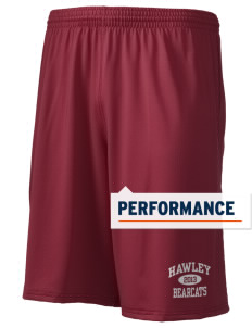"Hawley Middle School Bearcats Holloway Men's Performance Shorts, 9"" Inseam"