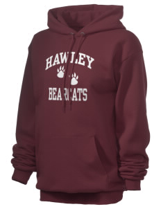Hawley Middle School Bearcats Unisex 7.8 oz Lightweight Hooded Sweatshirt