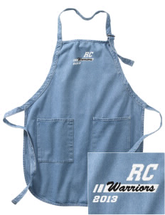 Riverview Christian School Warriors Embroidered Full-Length Apron with Pockets