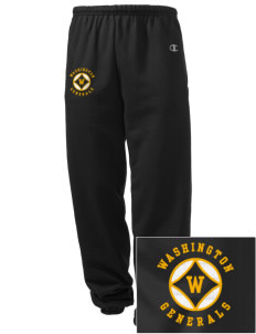 Washington School Generals Embroidered Champion Men's Sweatpants