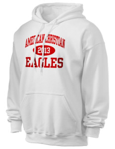 American Christian School Eagles Ultra Blend 50/50 Hooded Sweatshirt