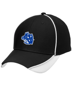 Trinity Lutheran School Crusaders Embroidered New Era Contrast Piped Performance Cap