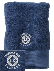 Lutheran High School East Falcons Embroidered Zero Twist Resort Towel