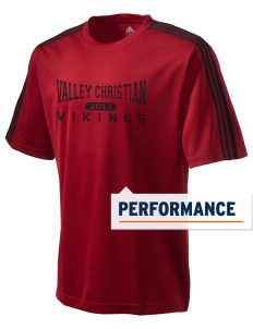 Valley Christian High School Vikings adidas Men's ClimaLite T-Shirt