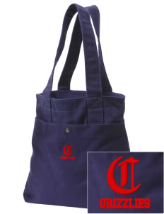 Carrizozo High School Grizzlies Embroidered Alternative The Berkeley Tote