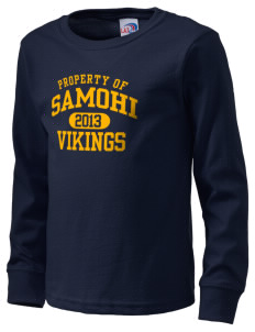 Samohi Vikings  Kid's Long Sleeve T-Shirt