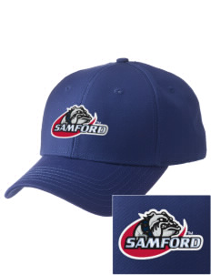 Samford University Bulldogs  Embroidered New Era Adjustable Structured Cap