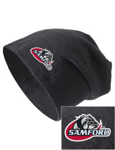 Samford University Bulldogs Embroidered Slouch Beanie