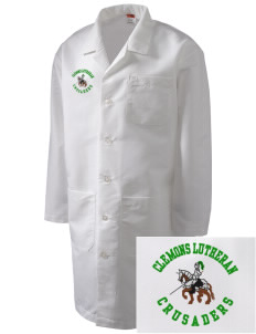 Clemons Lutheran School Crusaders Full-Length Lab Coat