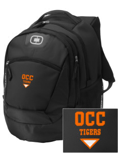 Orange City Christian School Tigers Embroidered OGIO Rogue Backpack