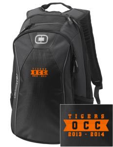 Orange City Christian School Tigers Embroidered OGIO Marshall Backpack