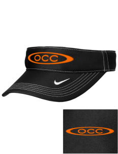 Orange City Christian School Tigers Embroidered Nike Golf Dri-Fit Swoosh Visor