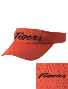 Orange City Christian School Tigers Embroidered Woven Cotton Visor