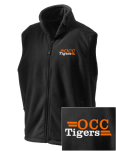 Orange City Christian School Tigers Embroidered Unisex Wintercept Fleece Vest