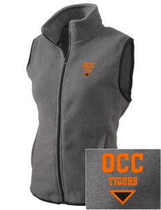 Orange City Christian School Tigers Embroidered Women's Fleece Vest