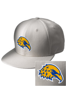 Morningside Christian School Eagles  Embroidered New Era Flat Bill Snapback Cap