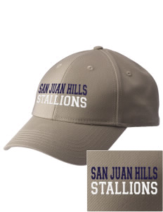 San Juan Hills High School Stallions  Embroidered New Era Adjustable Structured Cap