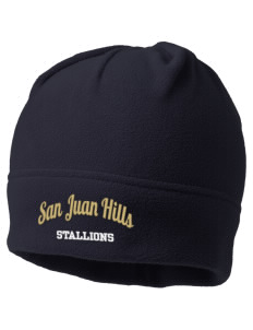 San Juan Hills High School Stallions Embroidered Fleece Beanie