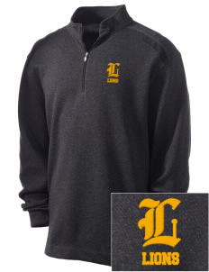 Zion Lutheran School Lions Embroidered Nike Men's Golf Heather Cover Up