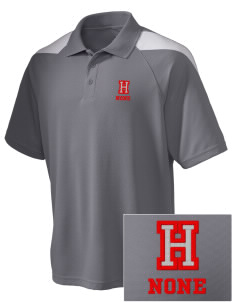 Hines none Embroidered Holloway Men's Frequency Performance Pique Polo