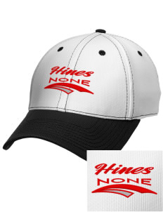 Hines none Embroidered New Era Snapback Performance Mesh Contrast Bill Cap
