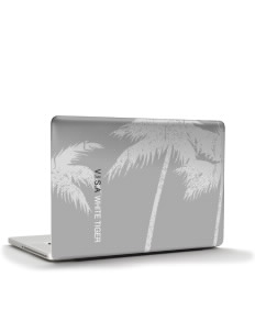"V.I.S.A White Tiger Apple Macbook Pro 17"" (2008 Model) Skin"