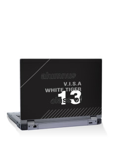 "V.I.S.A White Tiger 15"" Laptop Skin"