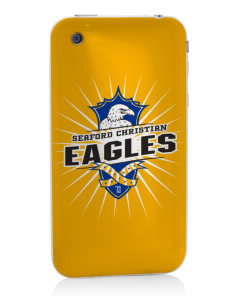Seaford Christian Academy Eagles Apple iPhone 3G/ 3GS Skin