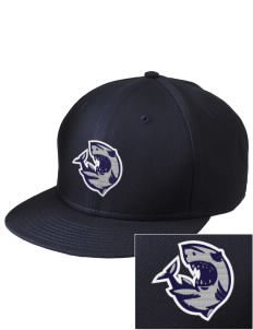 Puget Sound Adventist Academy Sharks  Embroidered New Era Flat Bill Snapback Cap