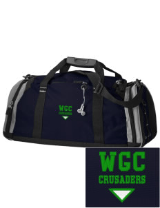 Watson Groen Christian School Crusaders Embroidered OGIO All Terrain Duffel
