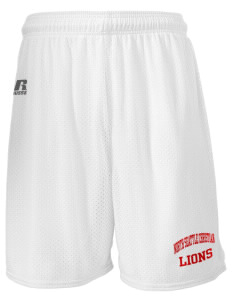 "North Seattle Christian School Lions  Russell Men's Mesh Shorts, 7"" Inseam"