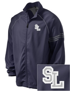 Seattle Lutheran High School Saints Embroidered adidas Men's ClimaProof Jacket