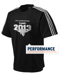 Seattle Lutheran High School Saints adidas Men's ClimaLite T-Shirt