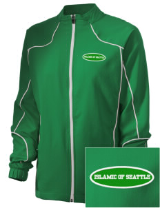 Islamic School Of Seattle Trees Embroidered Russell Women's Full Zip Jacket