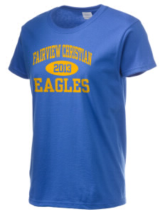 Fairview Christian School Eagles Women's 6.1 oz Ultra Cotton T-Shirt