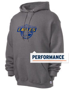 Fairview Christian School Eagles Russell Men's Dri-Power Hooded Sweatshirt