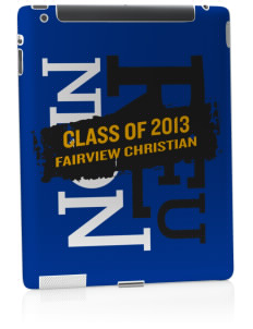 Fairview Christian School Eagles Apple iPad 2 Skin