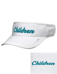 Hurray For Me! School Children Embroidered Lite Series Active Visor
