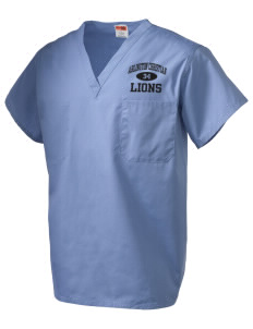 Arlington Christian School Lions V-Neck Scrub Top