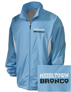 Middltown Middle School bronco Embroidered Holloway Men's Full-Zip Jacket
