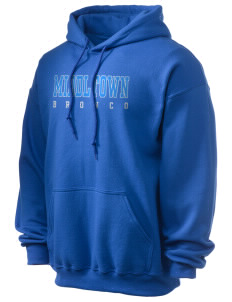 Middltown Middle School bronco Ultra Blend 50/50 Hooded Sweatshirt