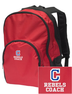 Claiborne Academy Rebels Embroidered Value Backpack