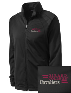 Girard College Cavaliers Embroidered Women's Tricot Track Jacket