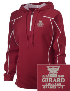 Girard College Cavaliers Embroidered Russell Women's Prestige 1/4 Zip Jacket