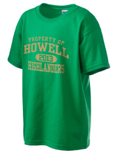 Howell High School Highlanders Kid's 6.1 oz Ultra Cotton T-Shirt