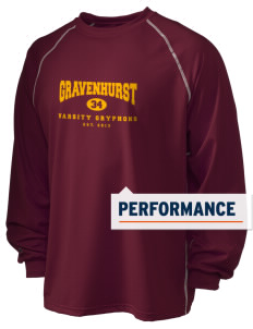 Gravenhurst High School Gryphons Holloway Men's Fuel Performance Long Sleeve T-Shirt