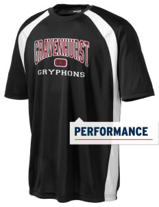 Gravenhurst High School Gryphons Men's Dry Zone Colorblock T-Shirt