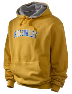 Ridgevalley School  Champion Men's Hooded Sweatshirt