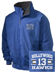 Hollywood Elementary School Hawks Embroidered Holloway Men's Tall Jacket